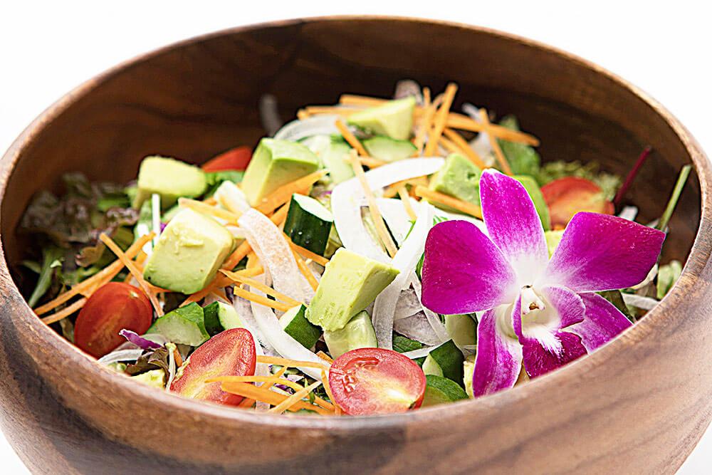 10種の野菜のグリーンサラダ