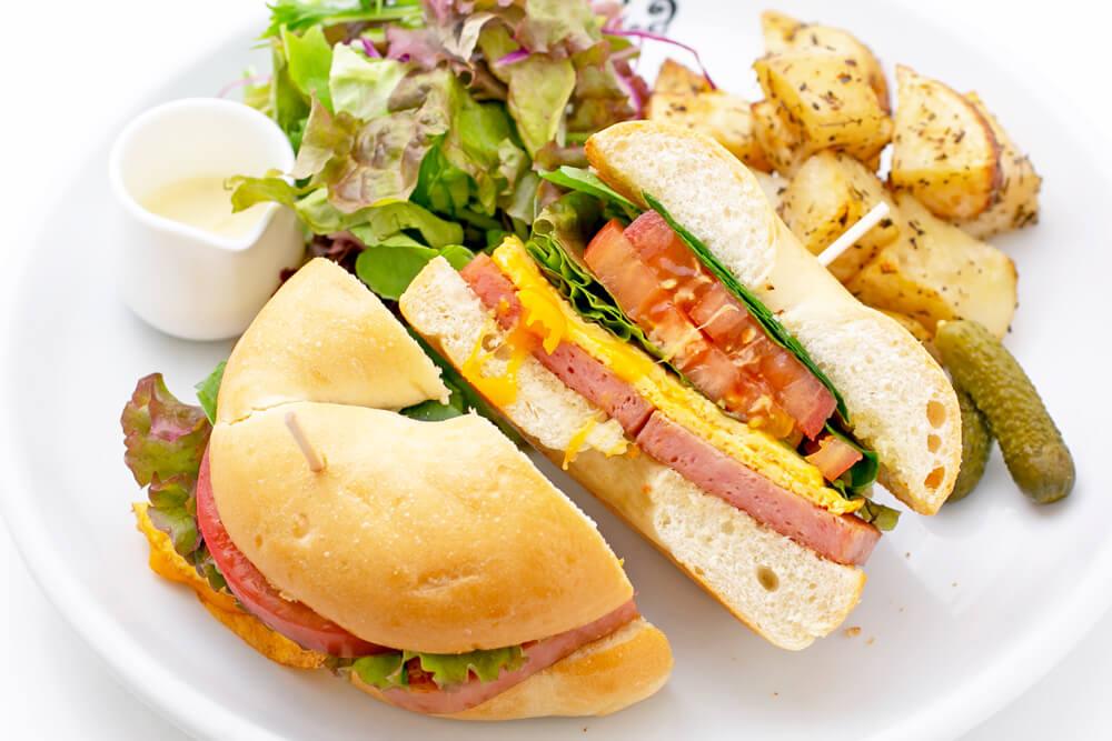 ベーグル・サンドイッチ